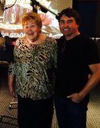 Mary Jo Catlett and Stephen Hillenburg