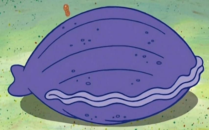 Image result for oyster spongebob