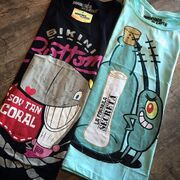 SpongeBob SquarePants - Pearl and Plankton graphic tees