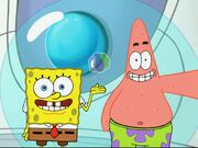 Spongebob, Patrick, & The Oldest Living Bubble