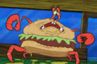 Krabby patty creature featureeeeeeeeeeeeeee