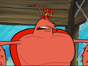 Larry the Lobster in The Krabby Kronicle-32