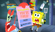 SpongeBob, You're Fired! (online game)