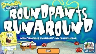 SpongeBob SquarePants RoundPants RunAround - It's Hip to be Square (Nickelodeon Games)