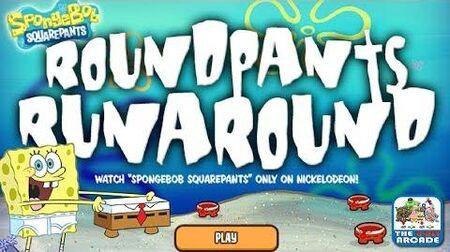SpongeBob SquarePants RoundPants RunAround - It's Hip to be Square (Nickelodeon Games)