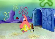 Treedome SpongeBob and Patrick