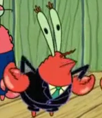 Mr krabs mock
