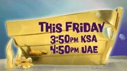 Promo 02 Spongebob's Heart of Gold - Ep226 Premiere Nickelodeon Arabia