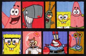SpongeBob-Fun-Rugs-Gary-Pearl-Plankton