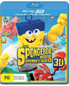 The SpongeBob Movie - Sponge Out of Water Australian 3D Blu-ray
