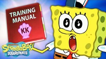 Krusty Krab Training Video in 5 Minutes 🍔 SpongeBob SquarePants