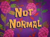 Not Normal title card