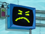 SpongeBob SquarePants Karen the Computer Face-7