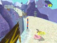 3d Spongebob Tunge Boarding
