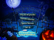 Main Menu Bilingual Halloween DVD