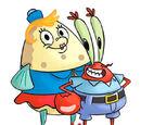 Mr. Krabs-Mrs. Puff relationship