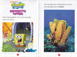 SpongeBob in Underwater Friends