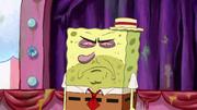 SpongeBob face in 1st movie