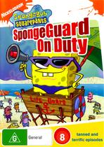SpongeGuard on Duty original Australian DVD