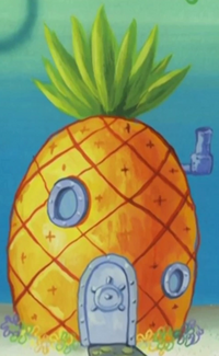 SpongeBob's pineapple house in Season 2-1