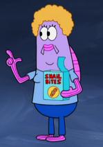 Female spokesmodel