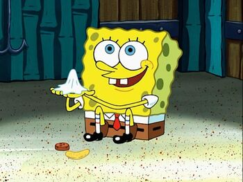 Used Napkin | Encyclopedia SpongeBobia | FANDOM powered by ...Spongebob Chip Used Napkin And Penny