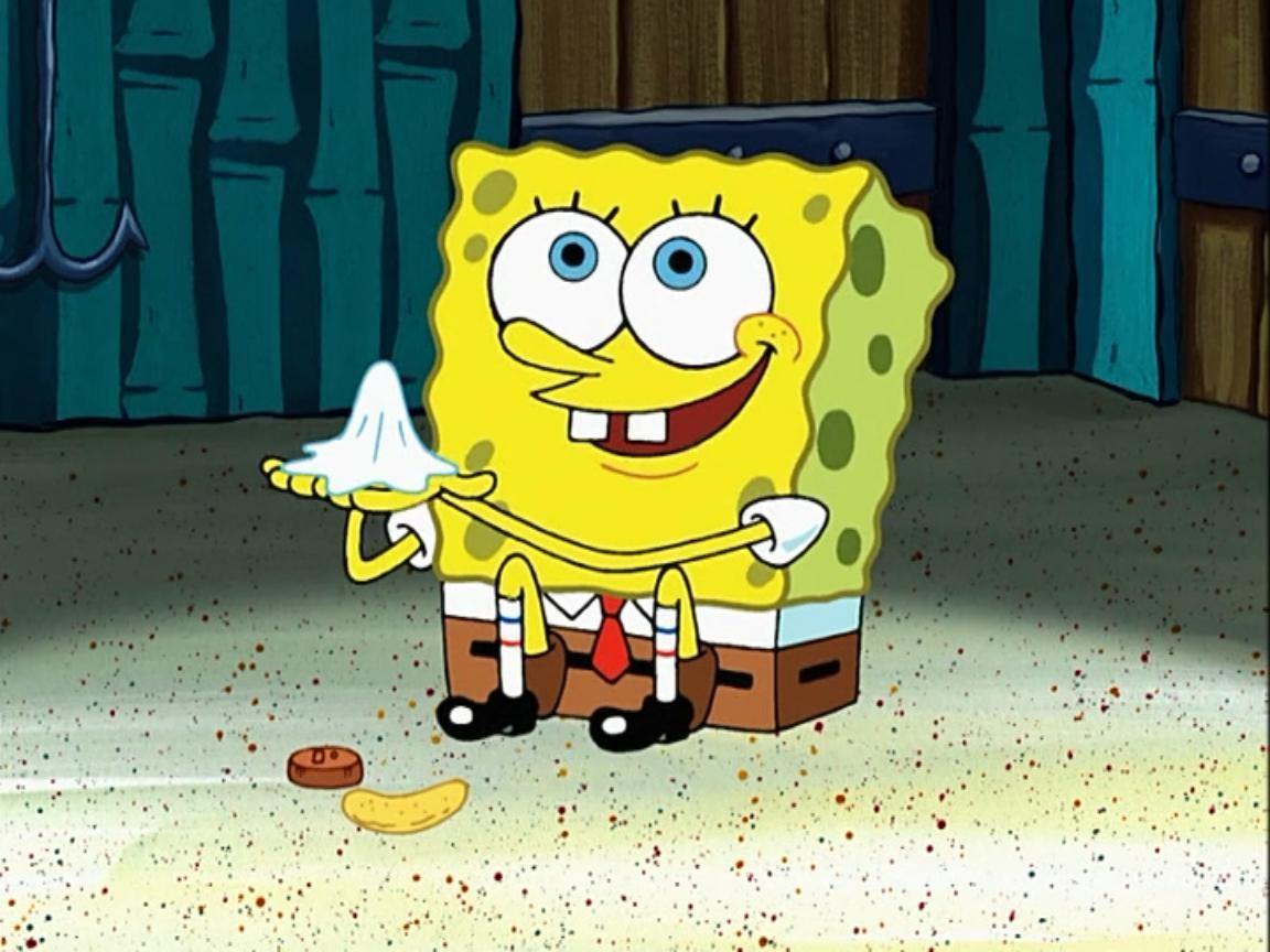 Used Napkin Encyclopedia Spongebobia Fandom Powered By Wikia