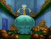 Squidward ate too many Krabby Patties