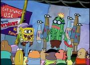 The spongebob show (2001) biggest fan s02ep16