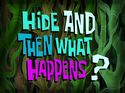 Hide and Then What Happens? title card