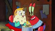 SpongeBob SquarePants Mrs Puff and Mr Krabs Talking