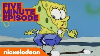 SpongeBob SquarePants Ripped Pants👖 in 5 Minutes Nick