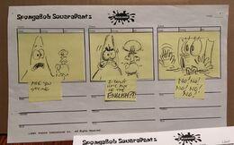 Mermaid Man and Barnacle Boy IV storyboard