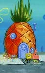 SpongeBob's pineapple house in Season 4-4