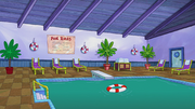 Hotel Halibut pool