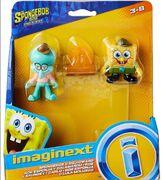 Imaginext SpongeBob Movie Squidward and SpongeBob