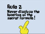 Rule 2 of Krusty Krab Rule Book