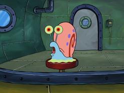 Gary meowing.