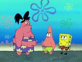 Sam,patrick and spongebob