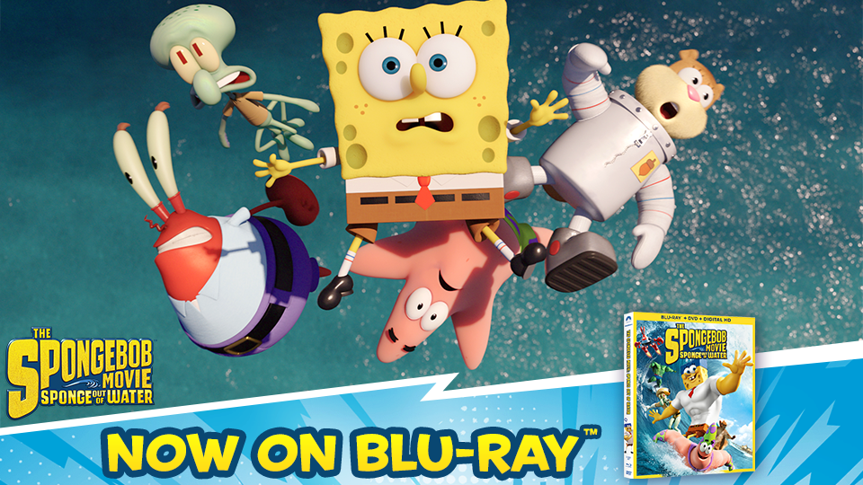 image the spongebob movie sponge out of water blu ray ad png