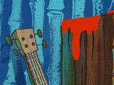 SpongeBob's ukulele