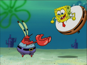 Mr. Krabs in The Sponge Who Could Fly-3