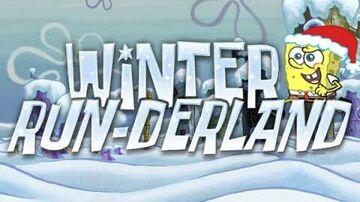 SpongeBob SquarePants Winter RUNderland game