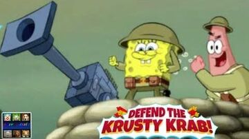 Spongebob Defend the Krusty Krab ( Cartoon Network )