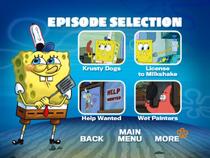SpongeBob, You're Fired! DVD episode selection screen 3