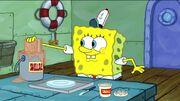 SpongeBob Making a Rusty on Rye