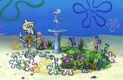 Squidward'sFlowerGarden