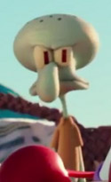 Comupter animated Squidward