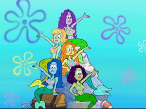 Mermaids from Welcome to the Bikini Bottom Triangle