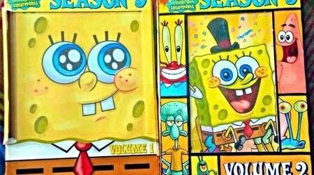 SpongeBob SquarePants Season 5 Volume 1 & 2 2007 2008 DVD (2007-2009)